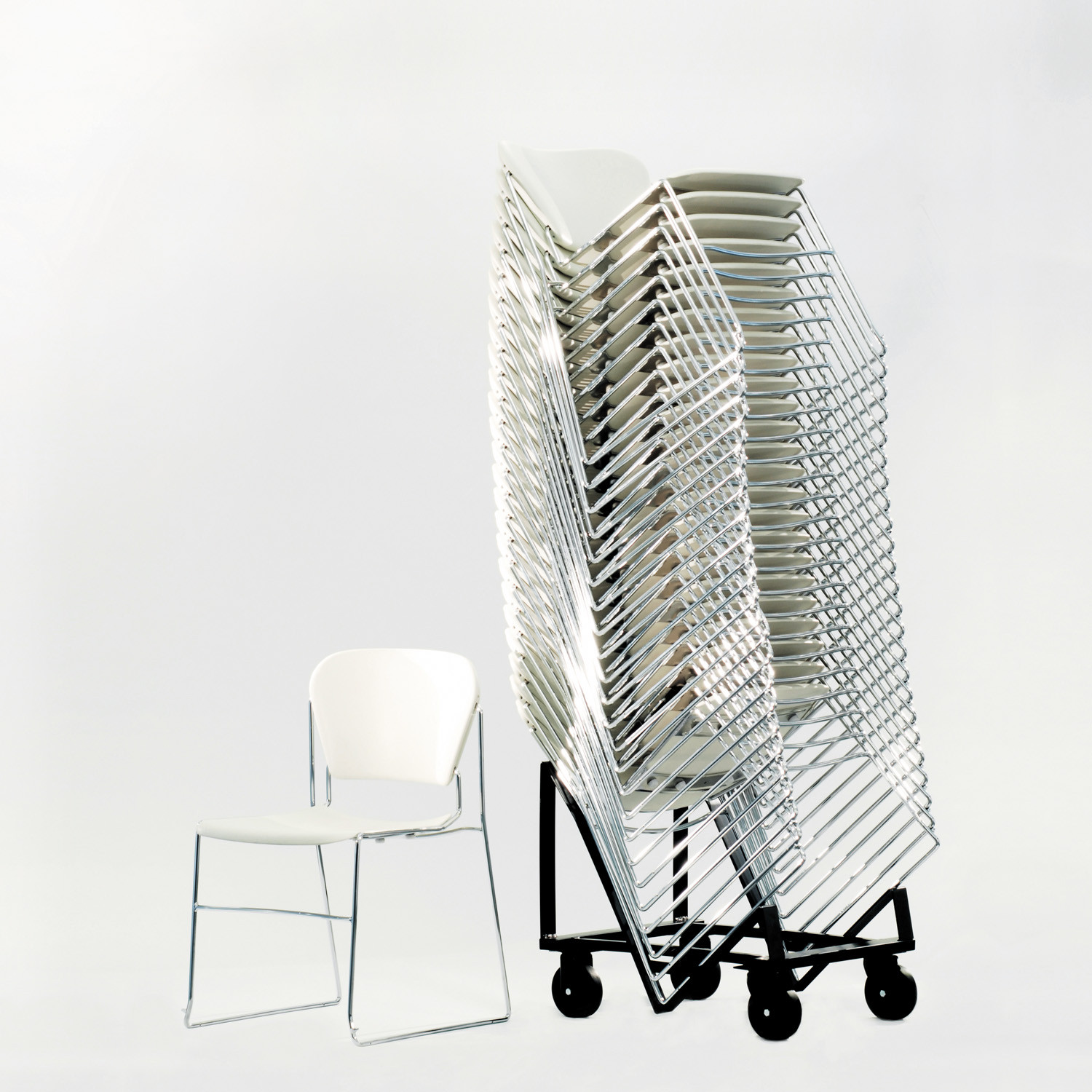 Perry High Density Stacking Chairs