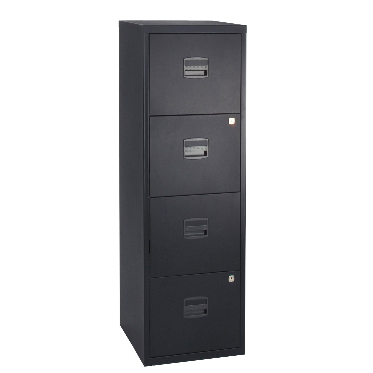 PFA 4-Drawer Black Home Filer