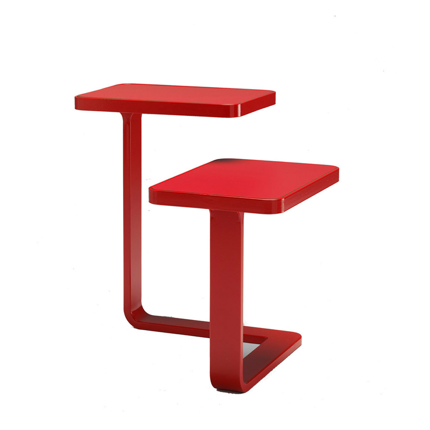 Piccolo Side Table in Red