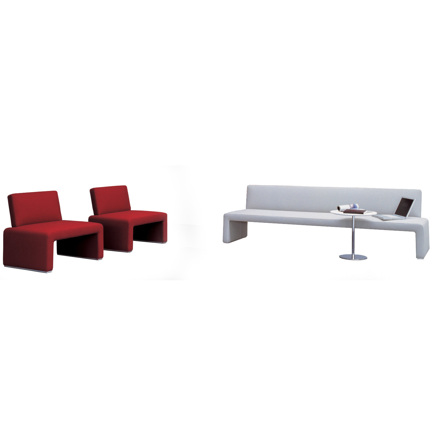 Labanca Sofa Bench and Armchair