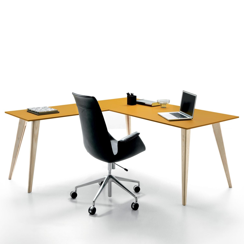 Pigreco Up Desk With Return
