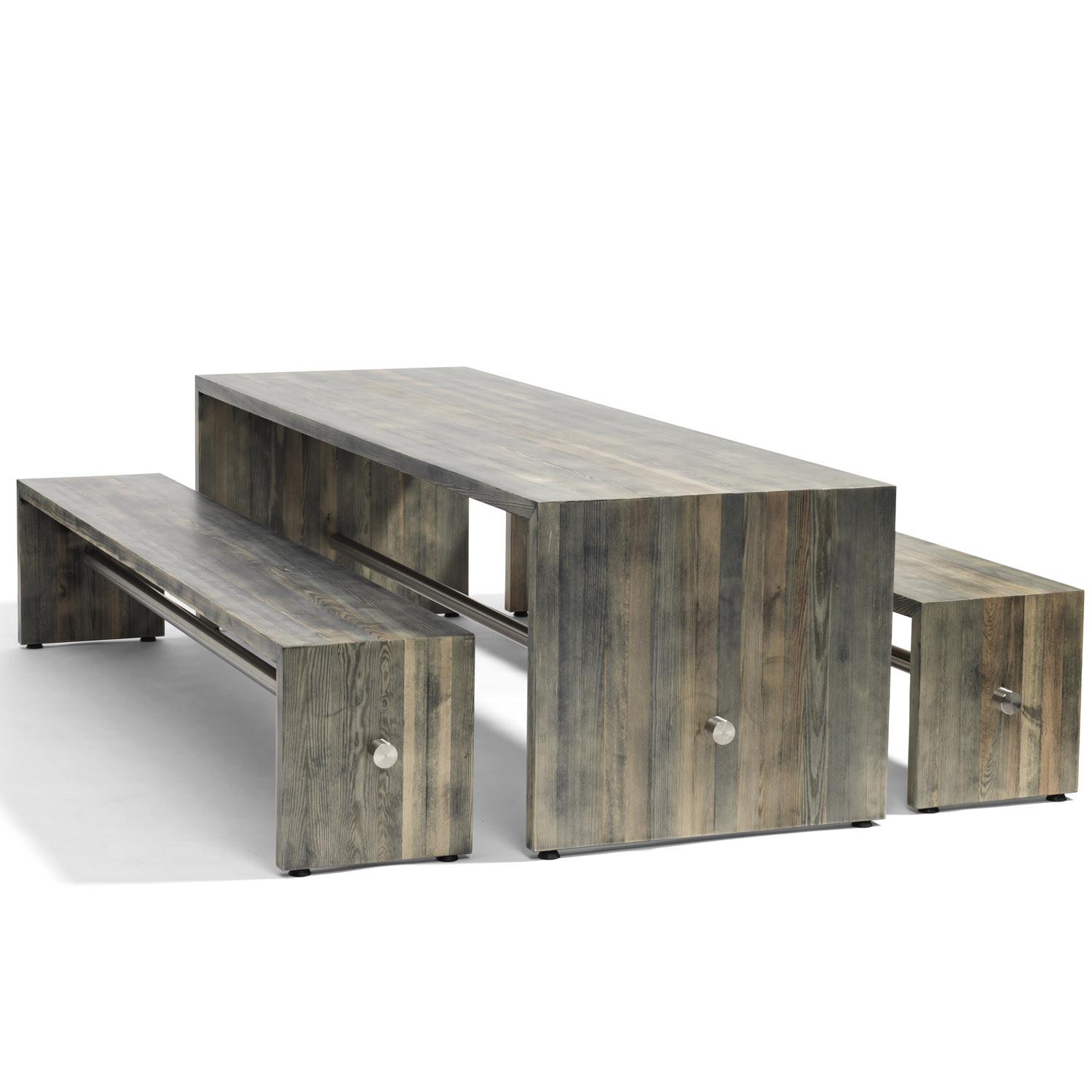 Ping Pong Bench & Table by Bla Station