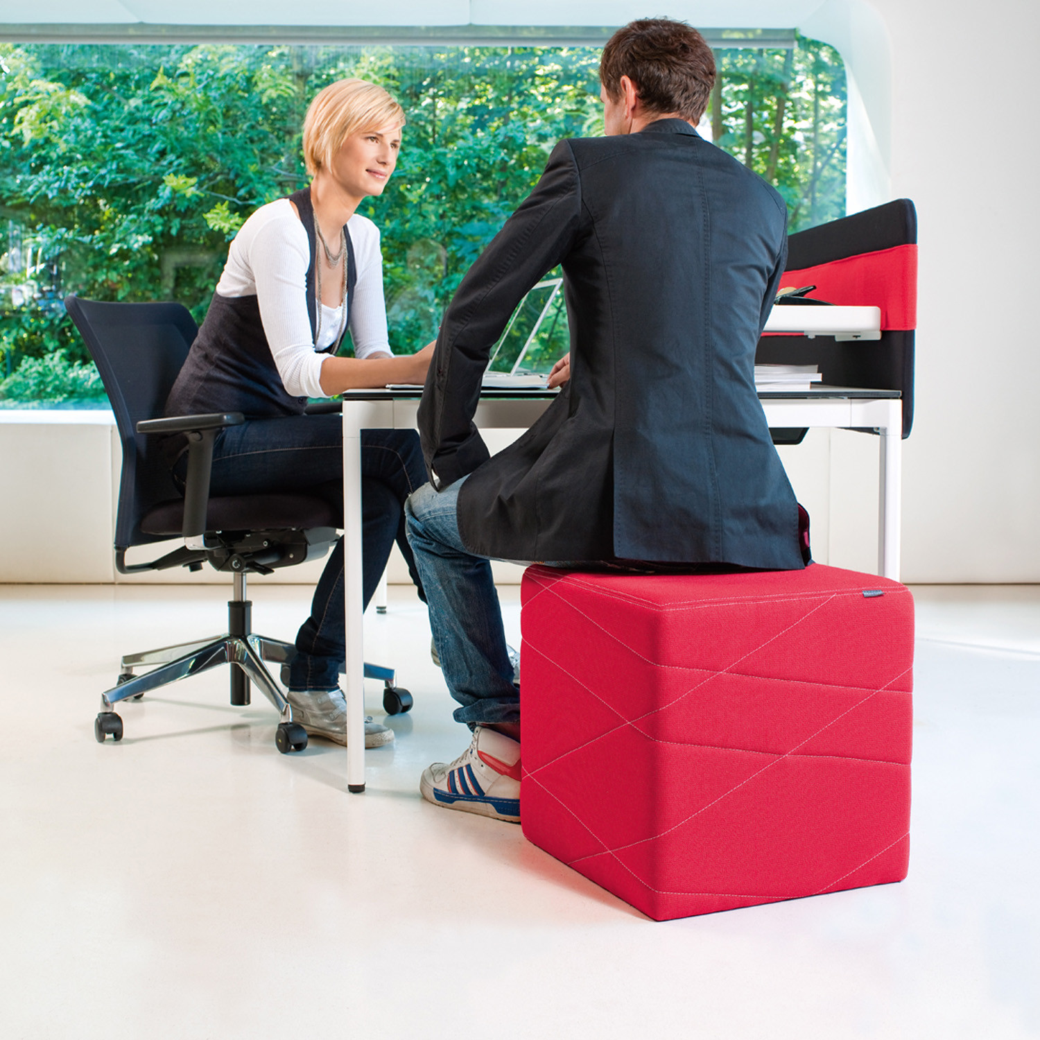 Pixie Cube Stools for Seating