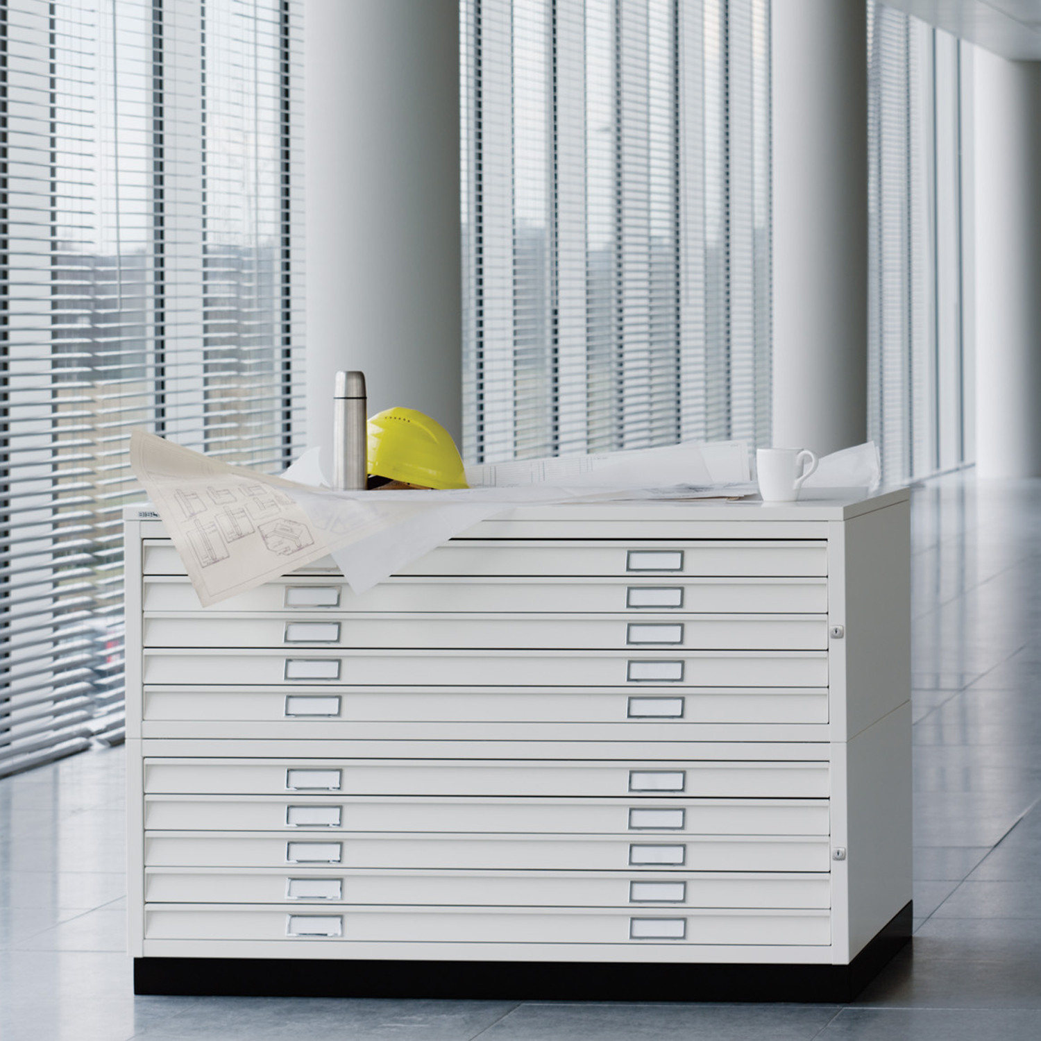 Plan File A0 & A1 Cabinets from Bisley