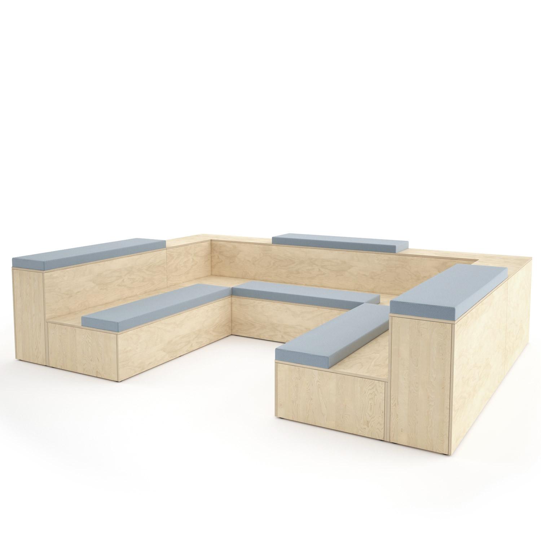 Platforms Tiered Seating