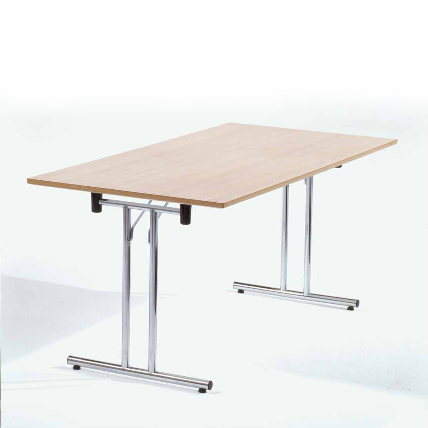 Platto Rectangular Fold Out Legs Table