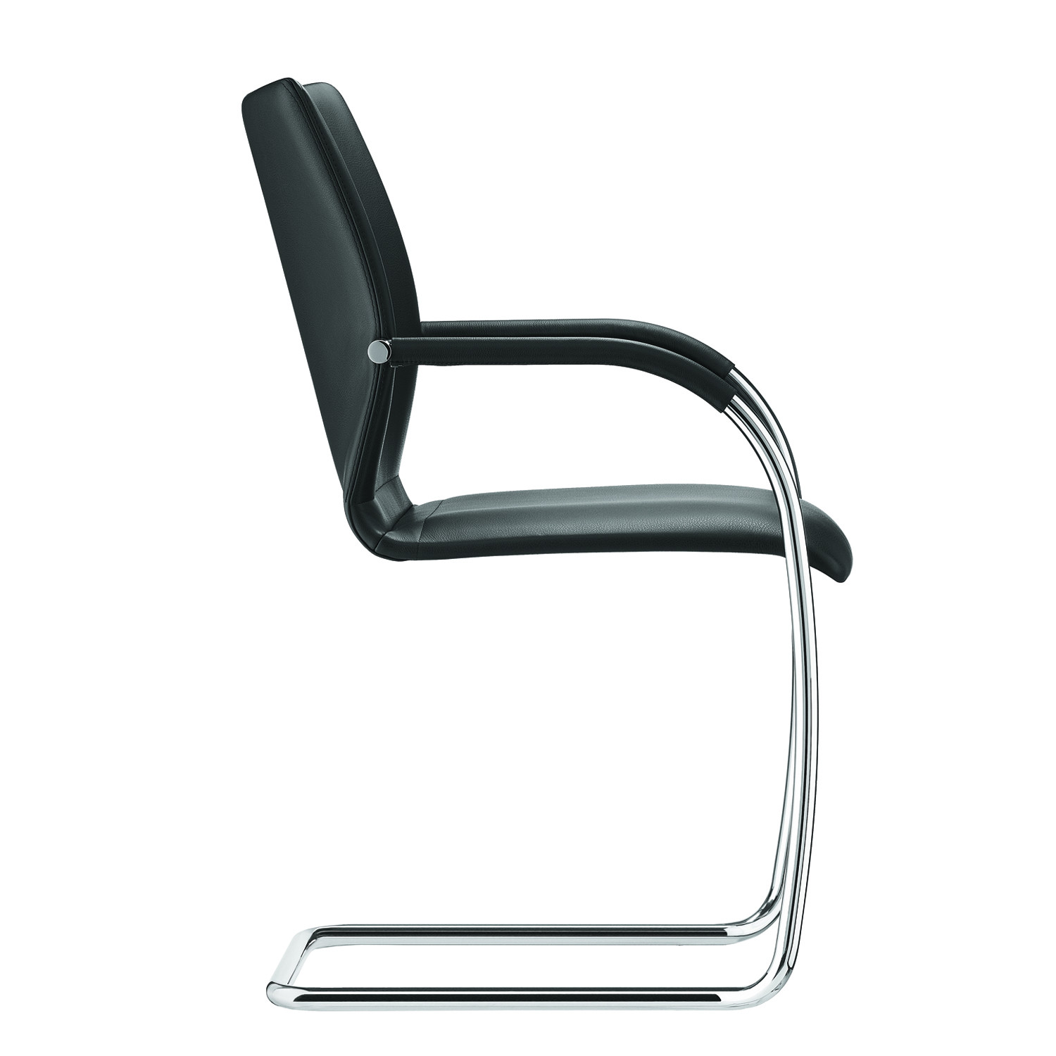 Plaza Steel Cantilever Meeting Chair