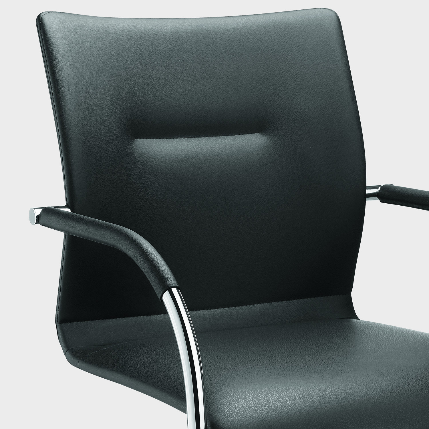 Plaza Steel Cantilever Chair