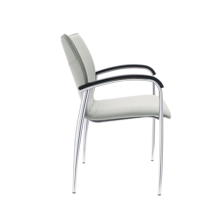 Plaza Steel 4-Legged Chair
