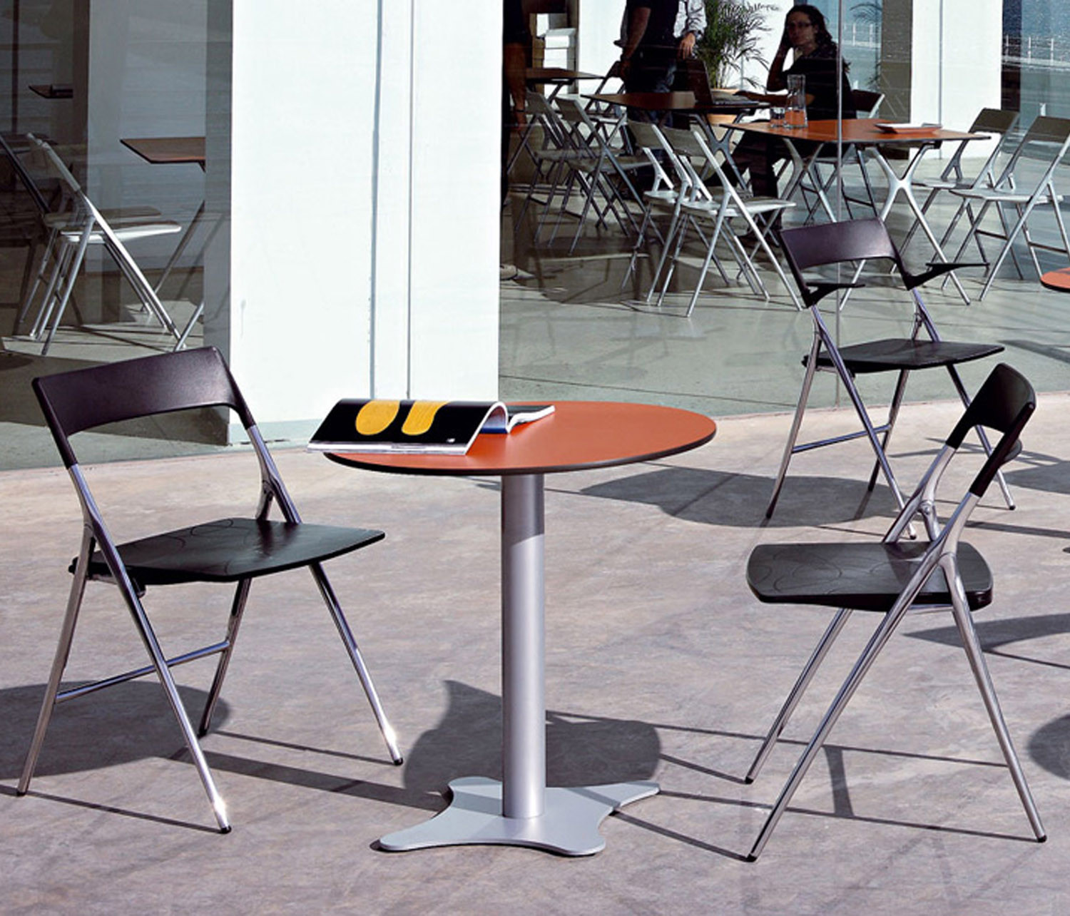 Plek Cafe Chairs by Actiu