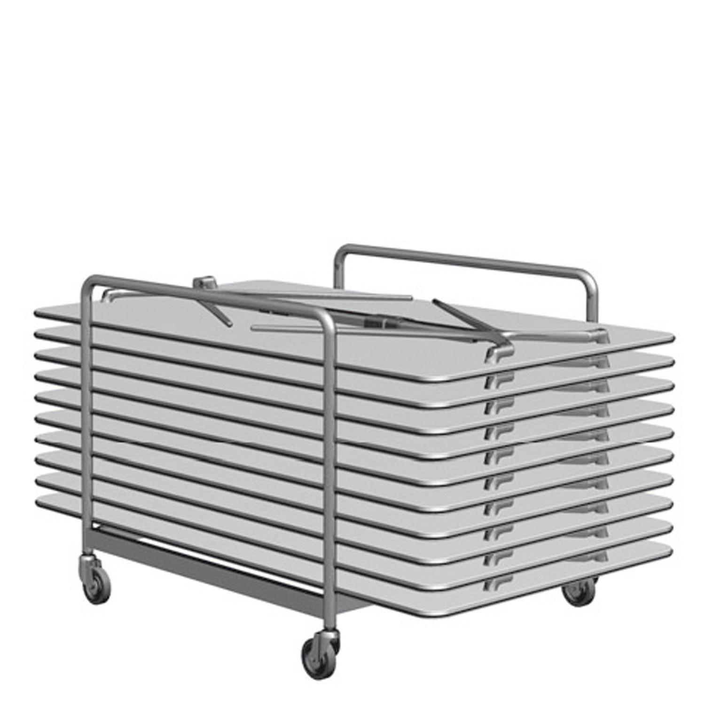 Plek Folding Table Trolley