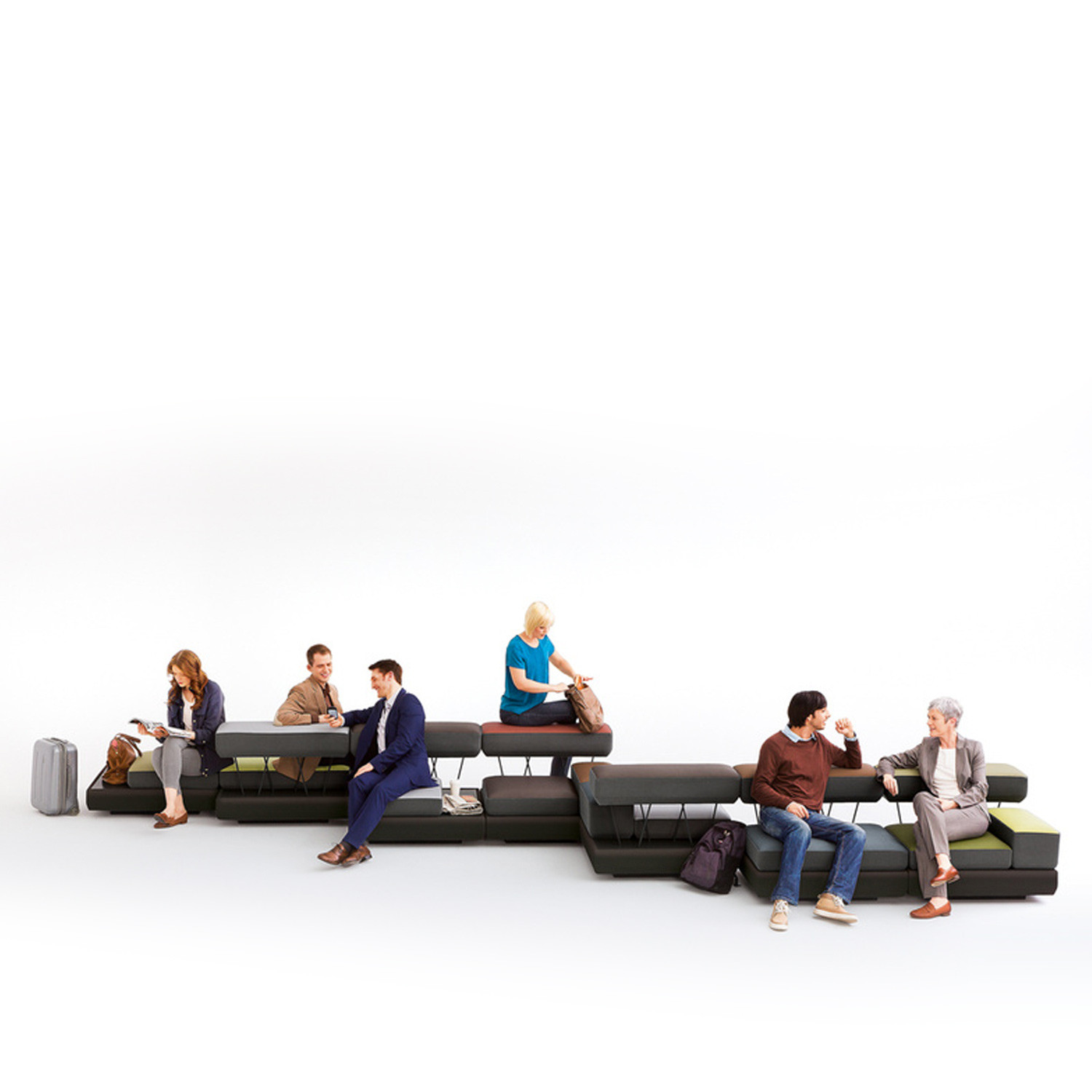 Plot Modular Workplace Sofa