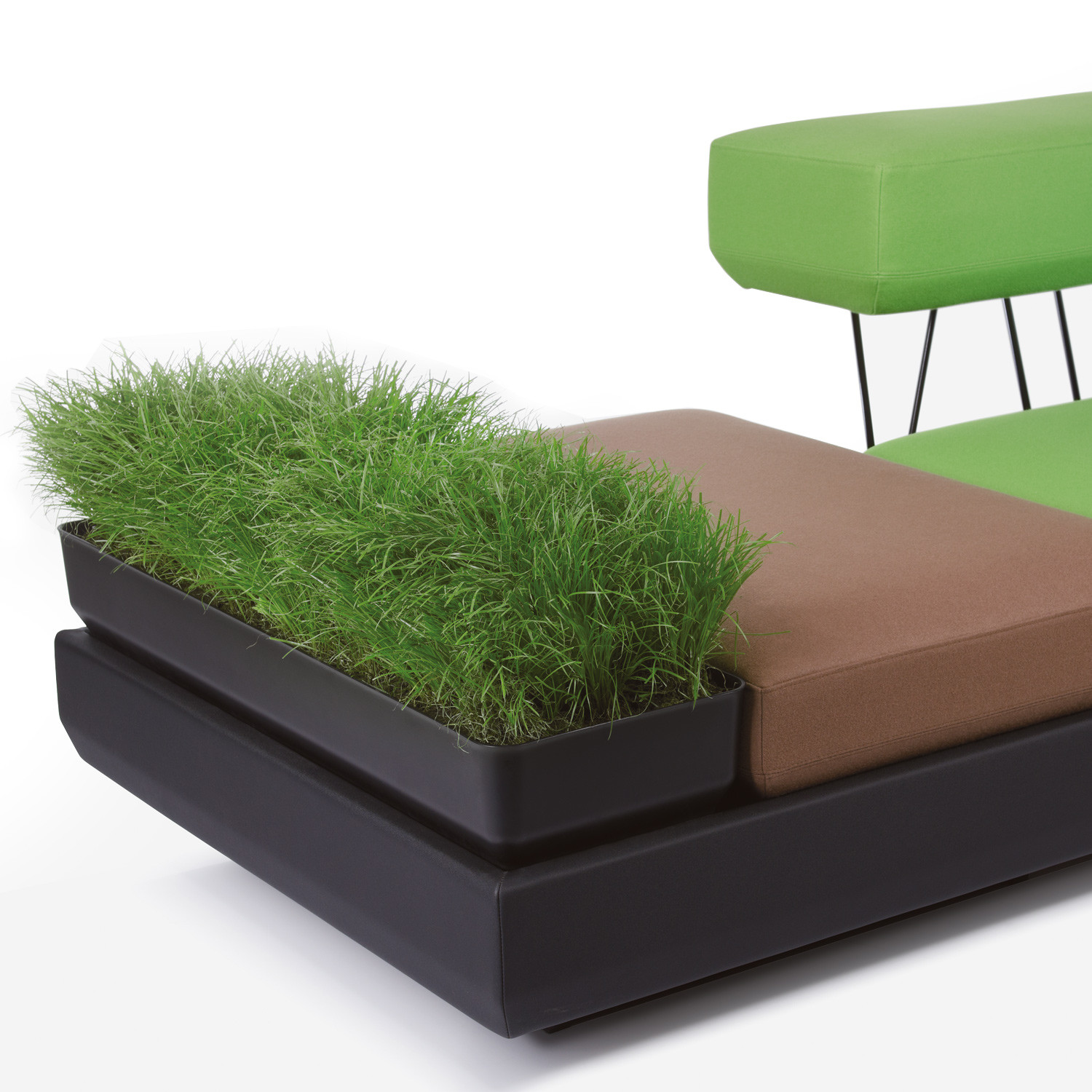Plot Sofa With Plants