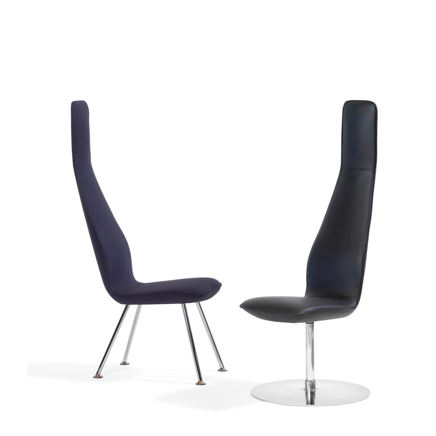 Poppe Swivel Chair from Bla Station