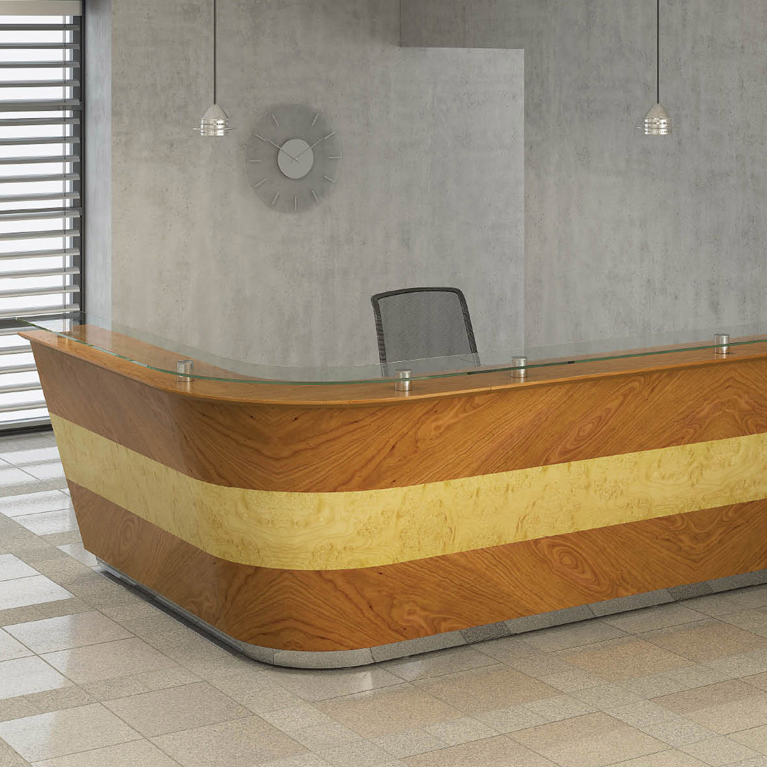 Bespoke Receptionist Counter
