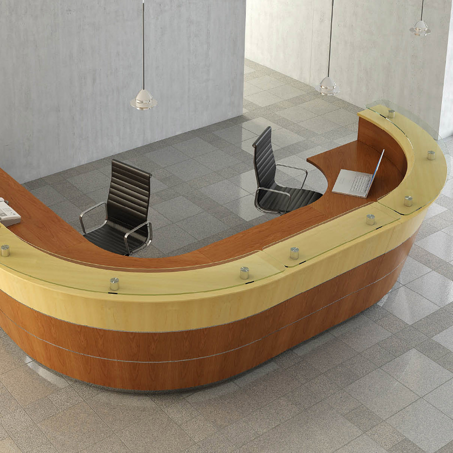 Premia Custom Made Reception Desk