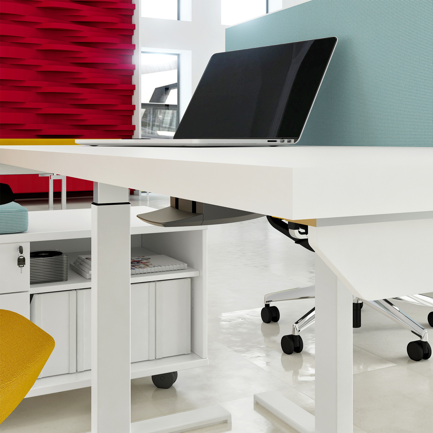 Elite Progress Adjustable Desk Detail