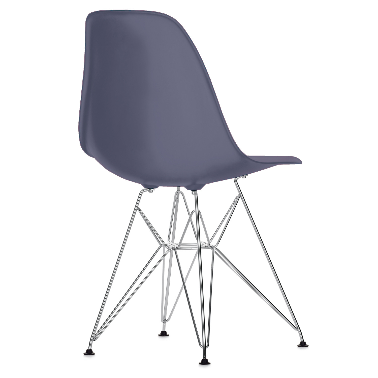 Eames plastic chair eames molded plastic chairs with for Cheap eames style chair