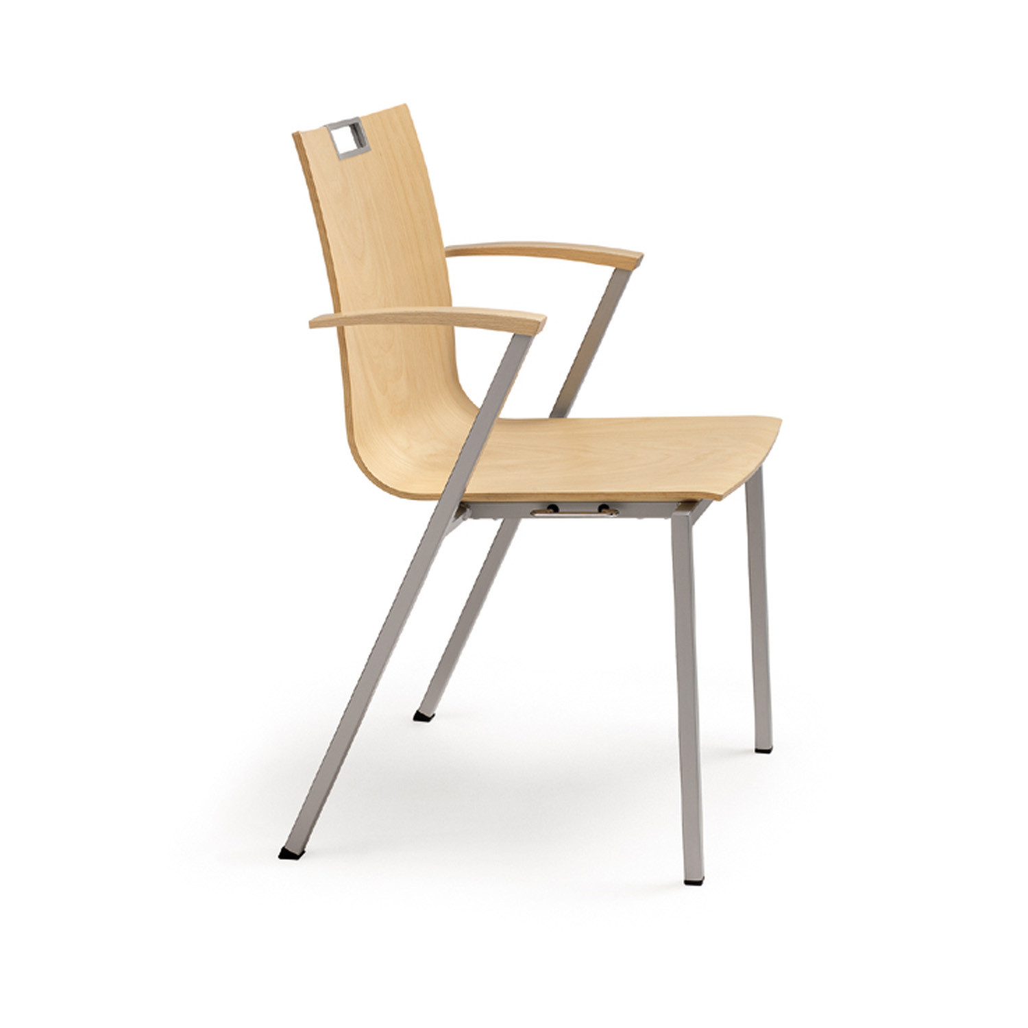 Publix Chair Plywood with Armrests