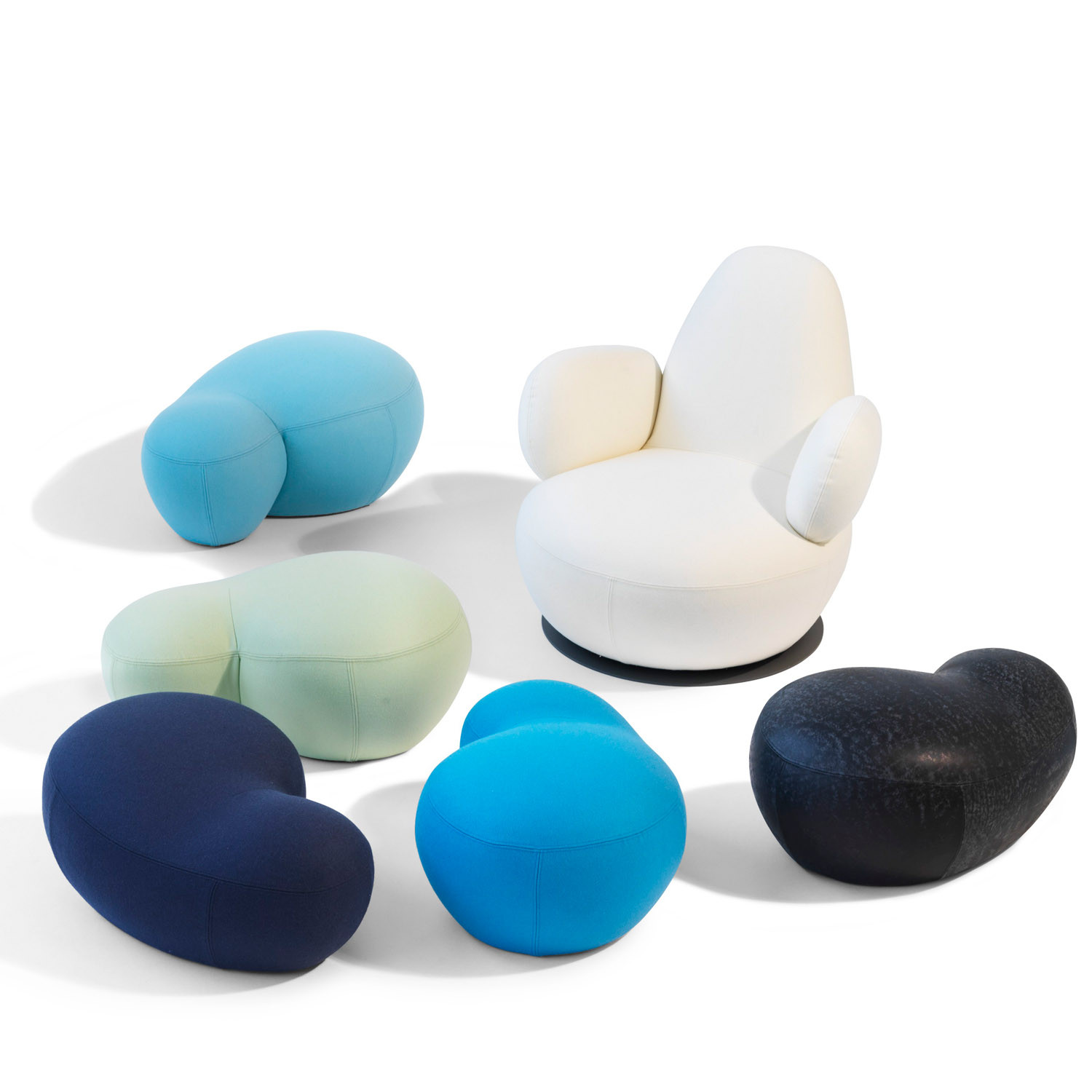 Puppa Soft Seating with Oppo Swivel Chair