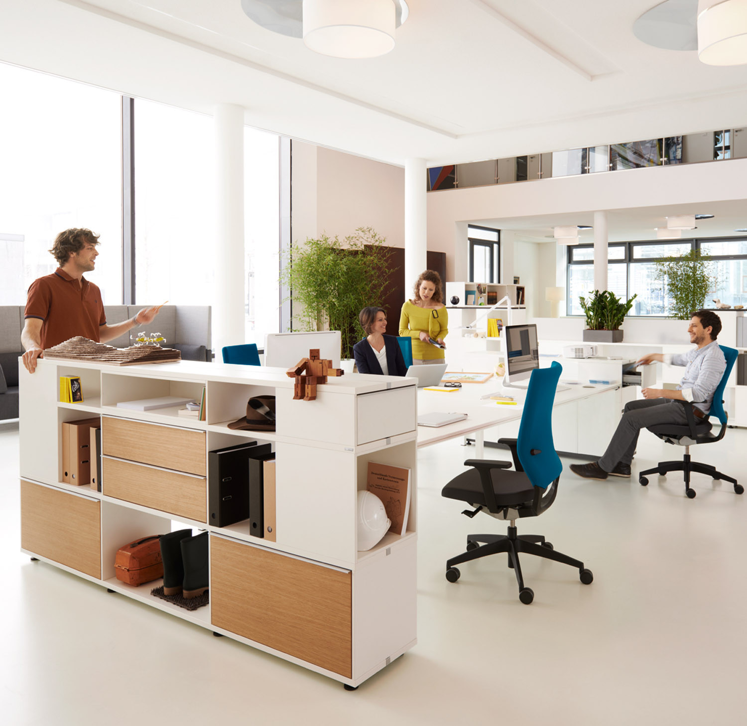 Quarterback Office Task Chairs from Sedus
