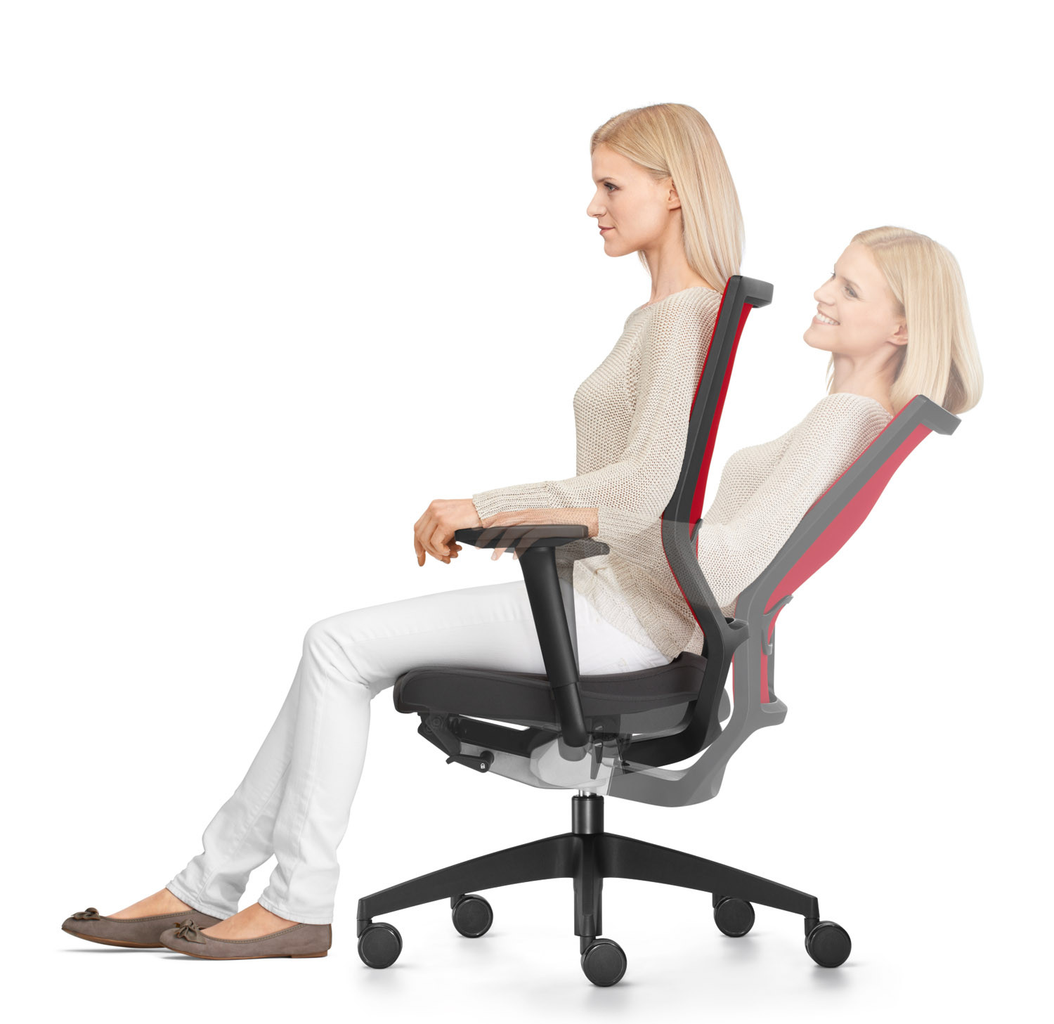 Quarterback Ergonomic Reclining Chairs