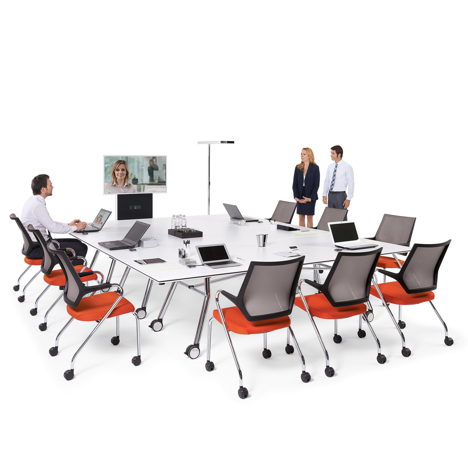 Quarterback Office Meeting Chairs