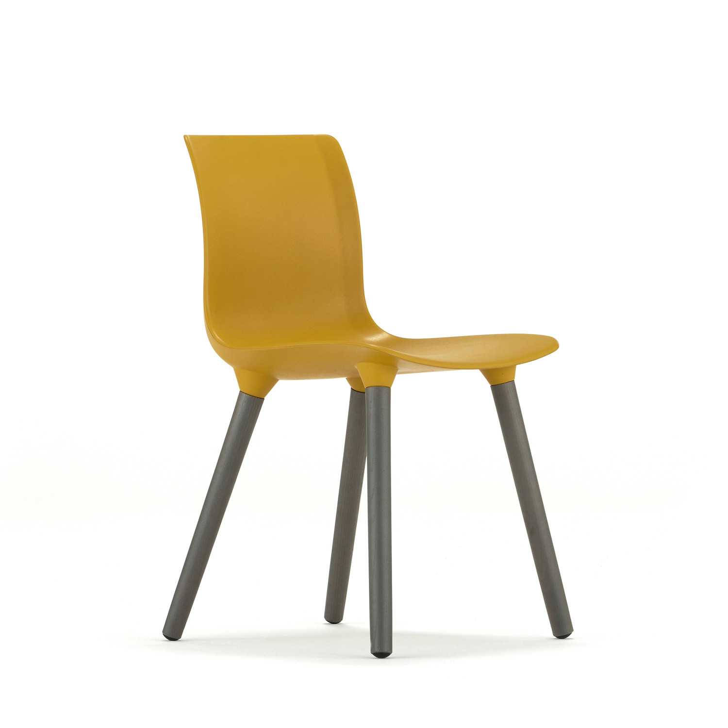 Quincy Chair With Mustard Seat Shell