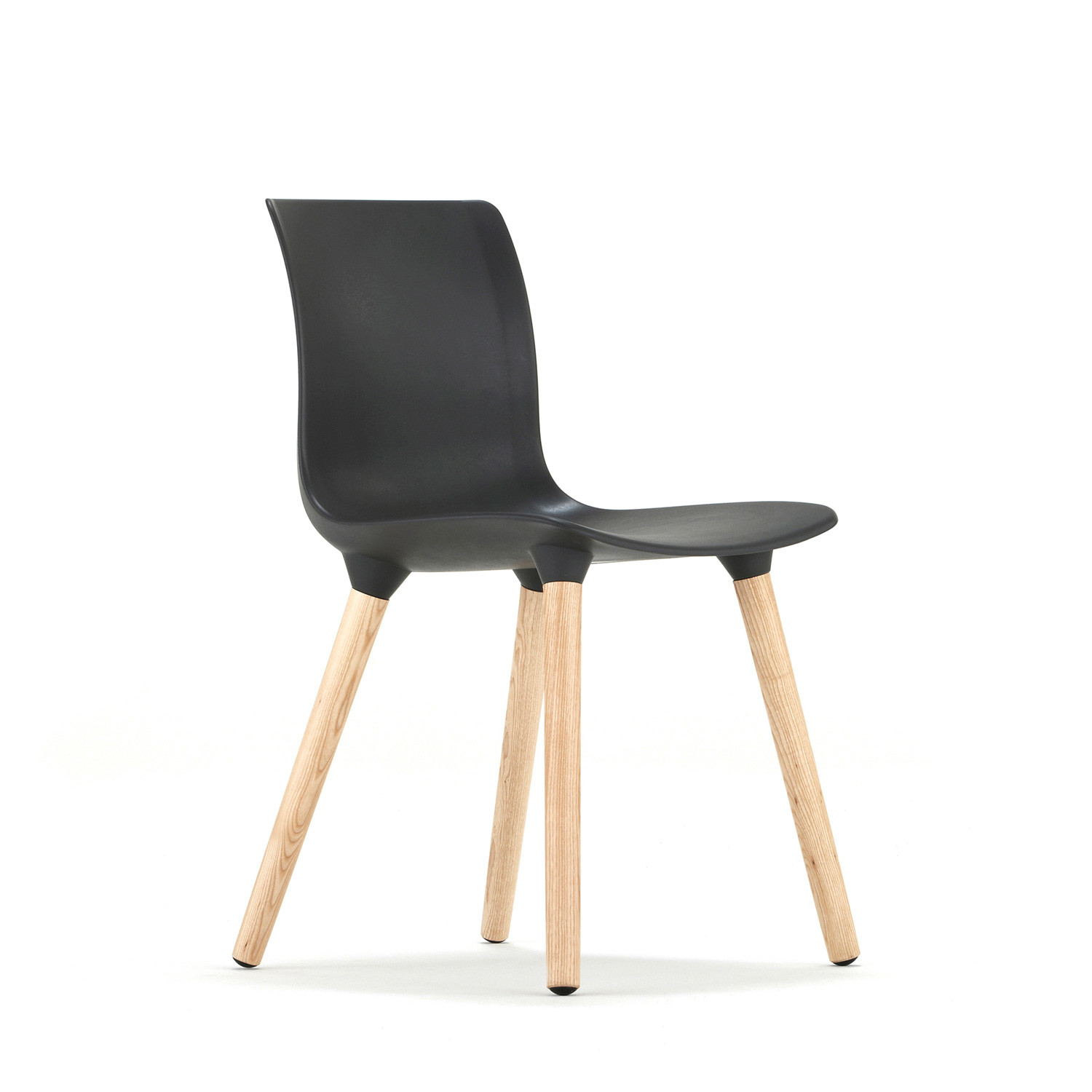 Quincy Chair With Black Seat Shell