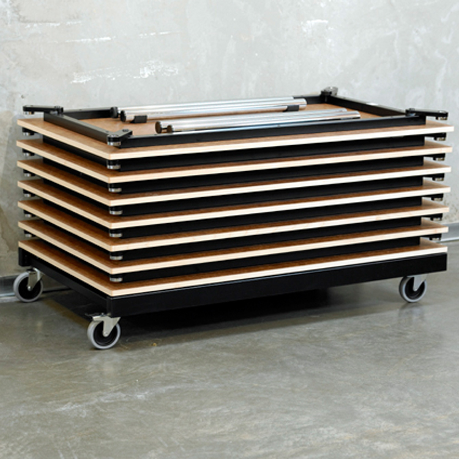 Rail Tables by Randers+Radius
