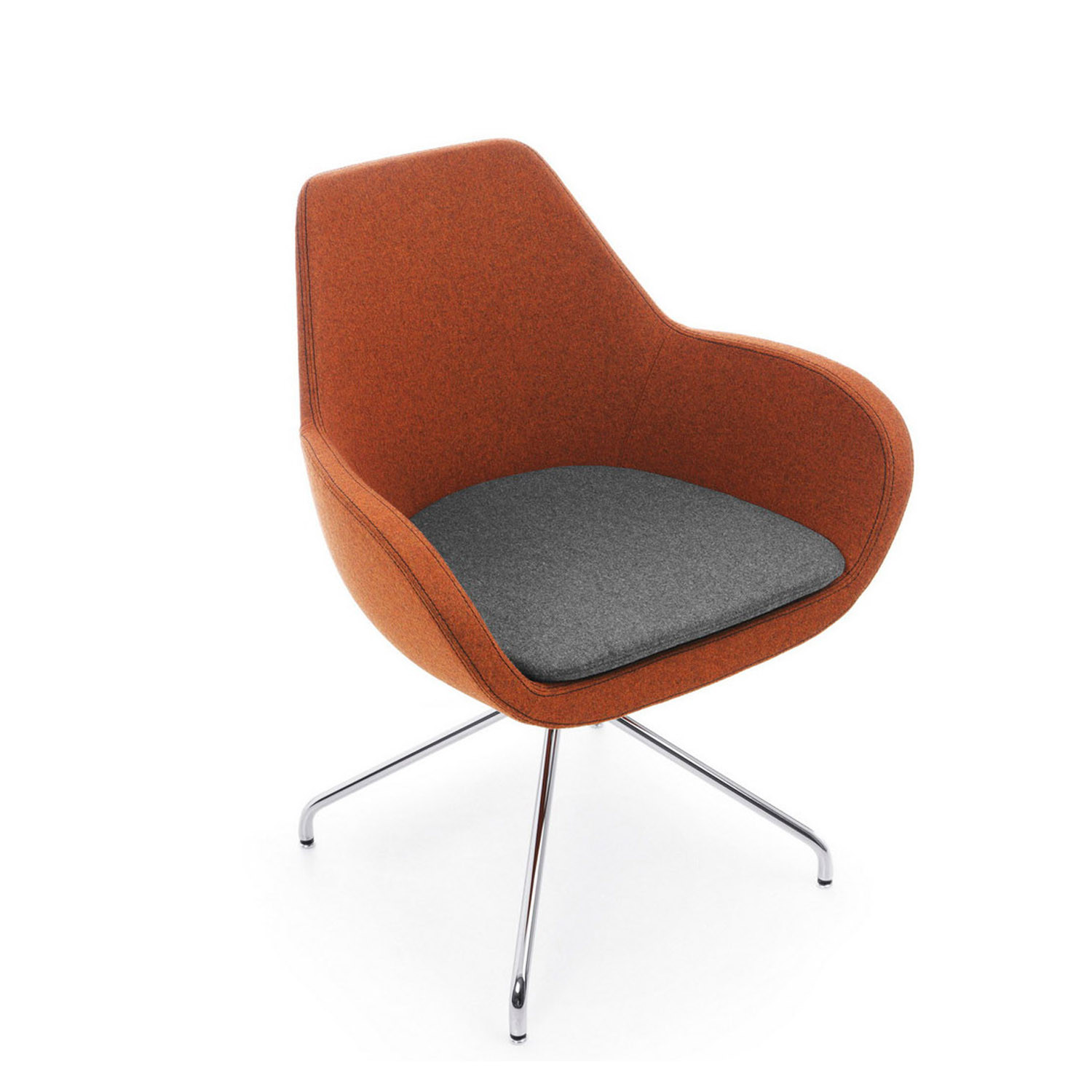 Reflex Meeting Chair with Seat pad