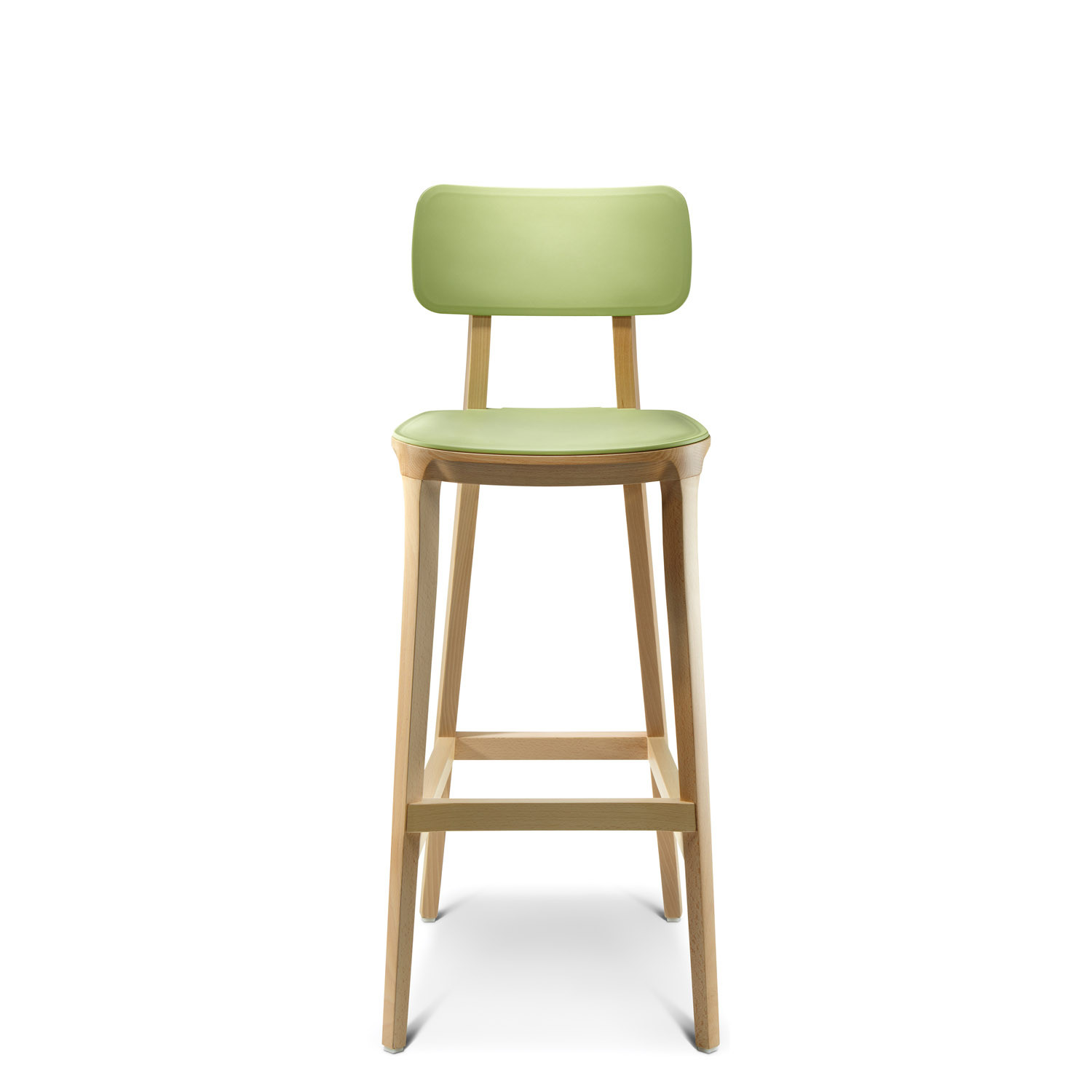 Retro bar stool grt solid wooden stools apres