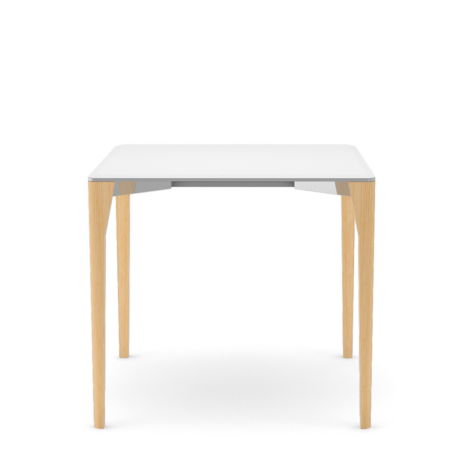 Retro Square Dining Table by Connection