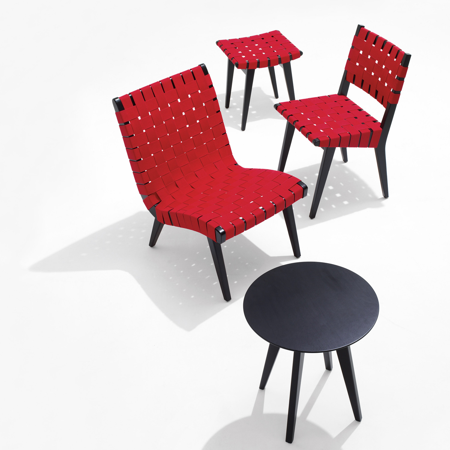 Risom Chair Collection With Table