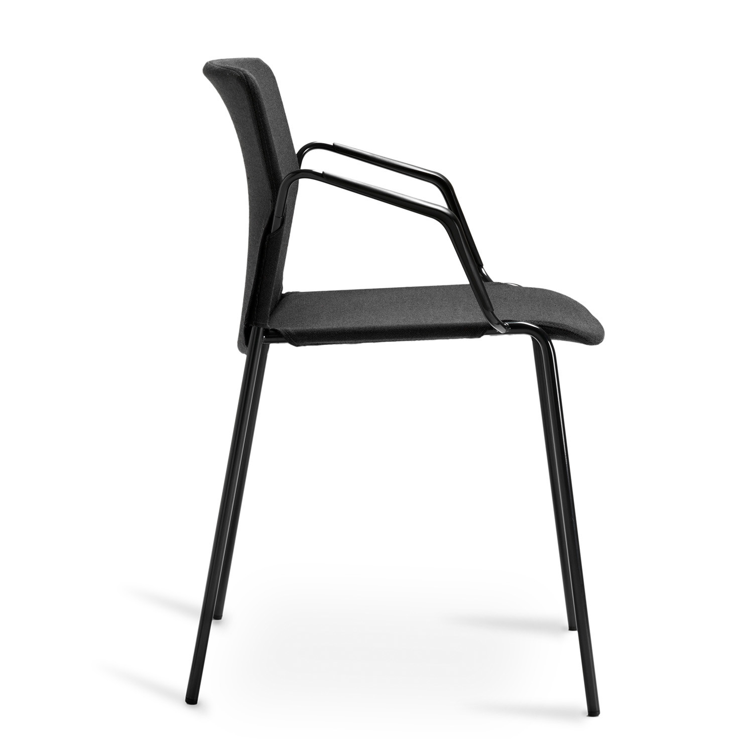 Risto Armchair Side View