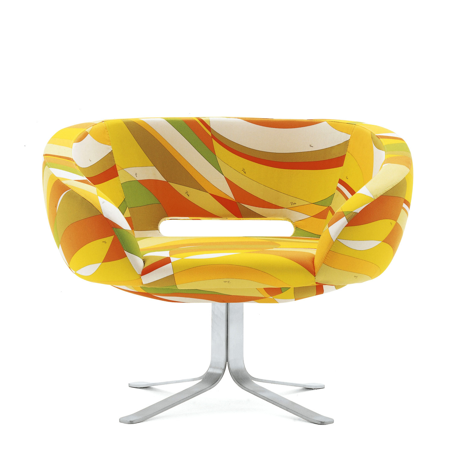 Rive Droite Tub Chair Yellow