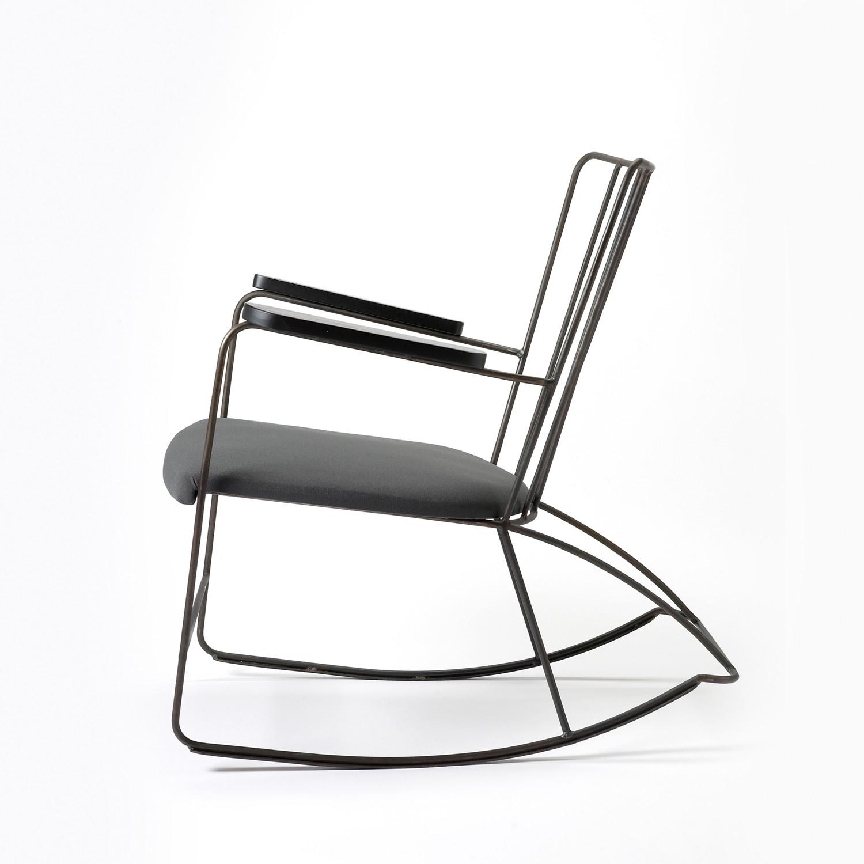 Rocker Chair by Ernest Race