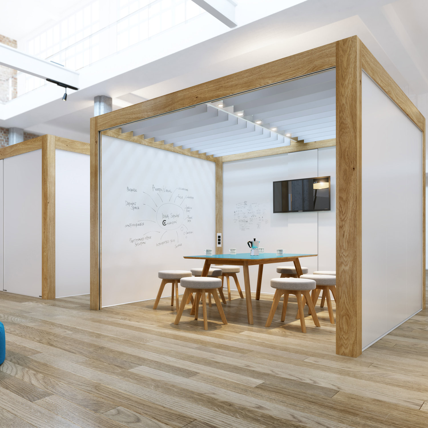 Rooms: Temporary Office Meeting Room Solution