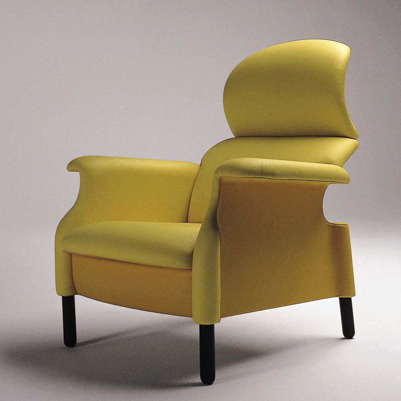 Sanluca Designer Armchair Yellow