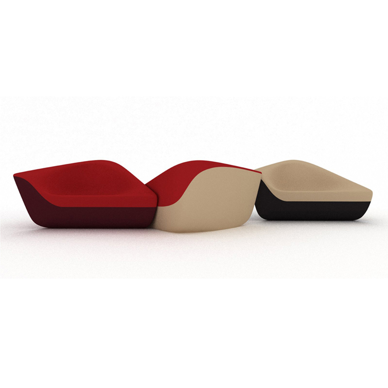 Seating Stones Lounge Chairs