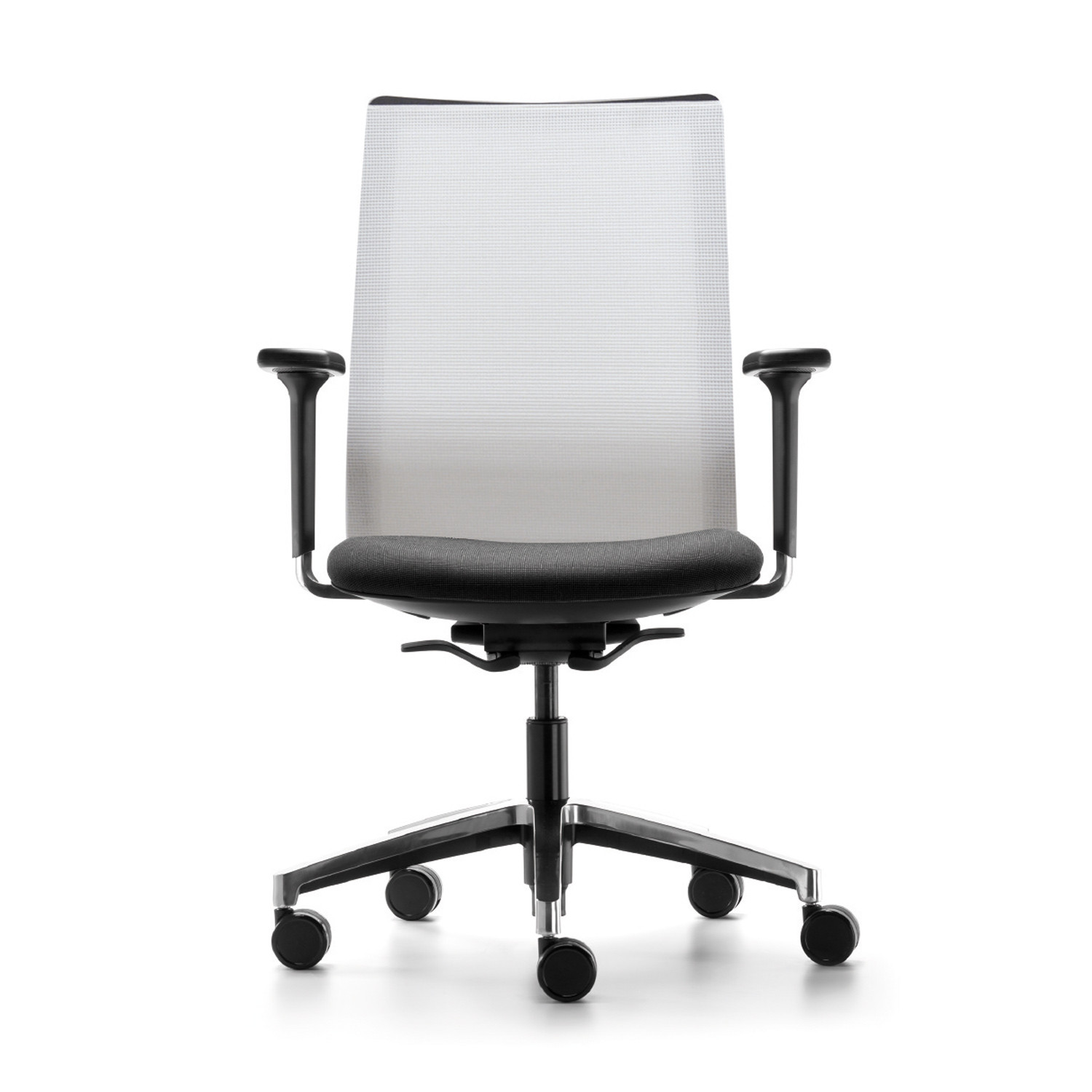 Sentis Task Chair With White Mesh Back