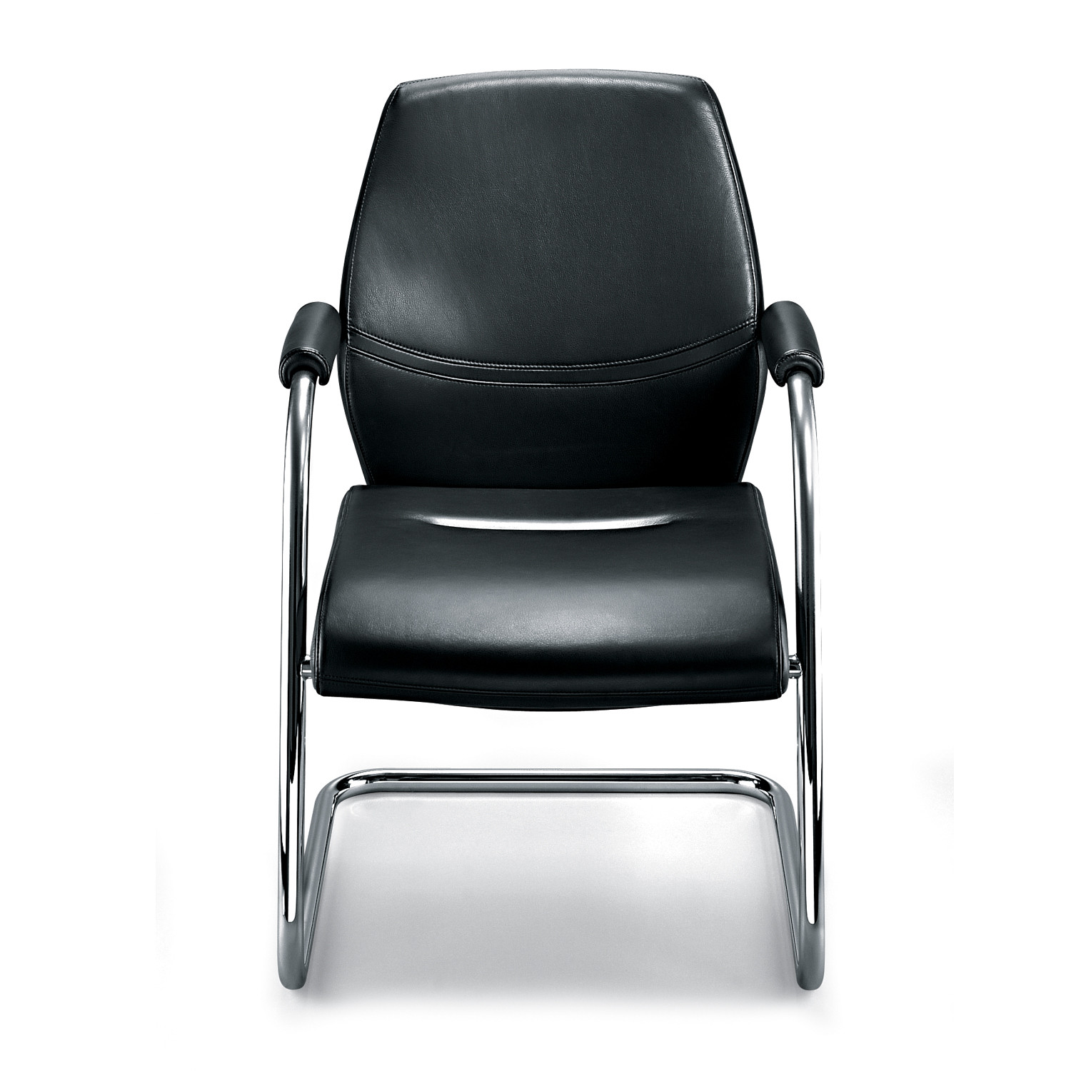 Dauphin Office Shape Cantilever Chairs