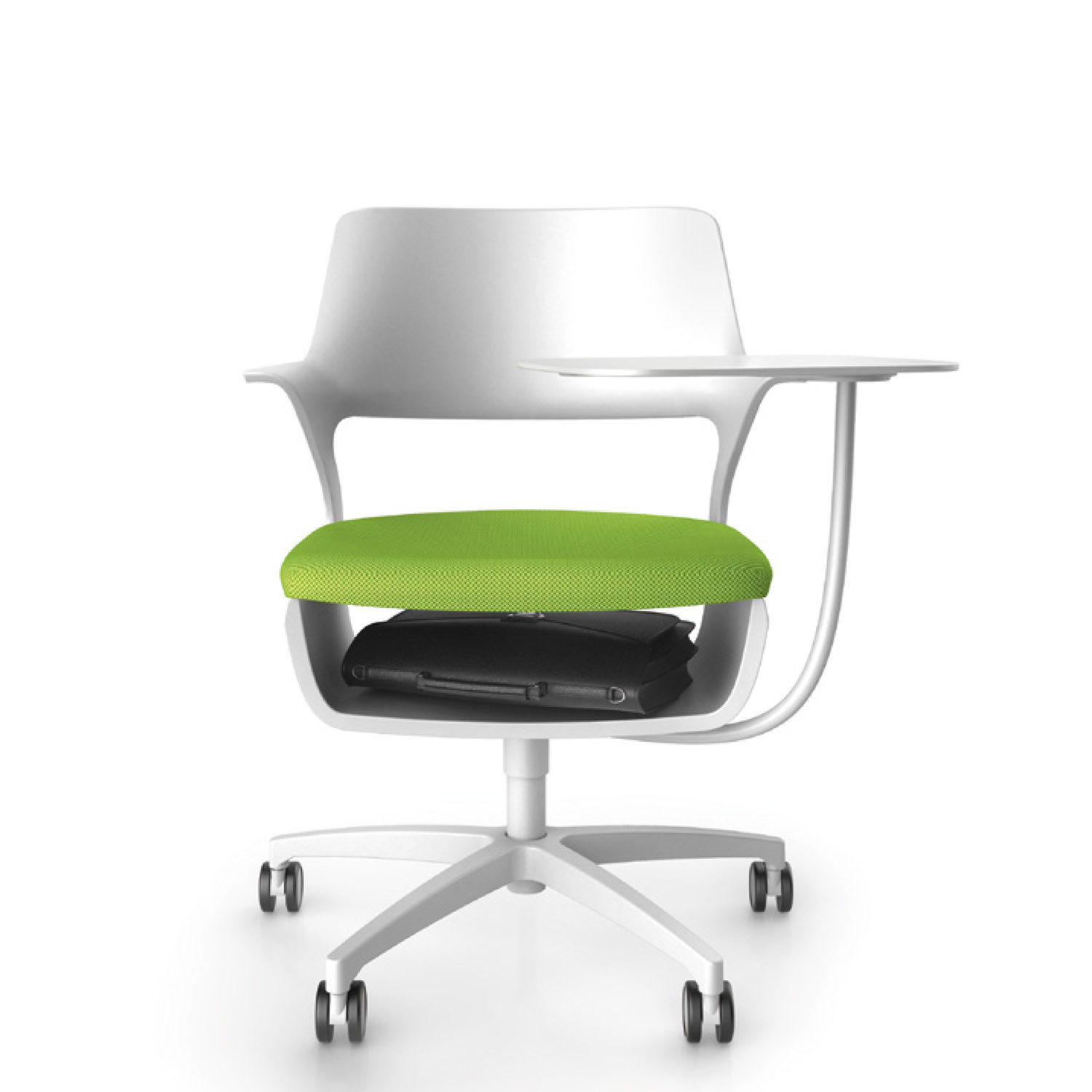 Sharko Swivel Chair and Writing Tablet