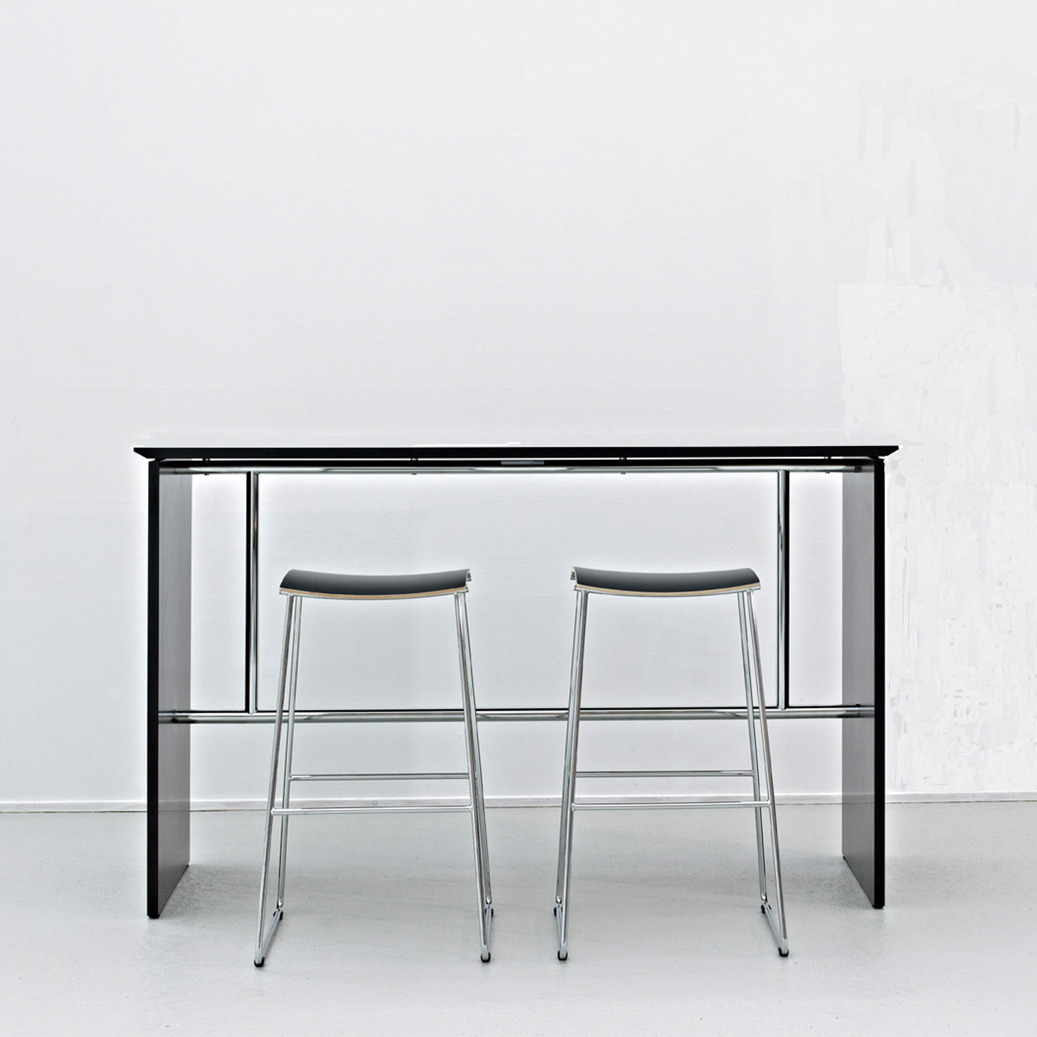 Sharp Contemporary Bar Table