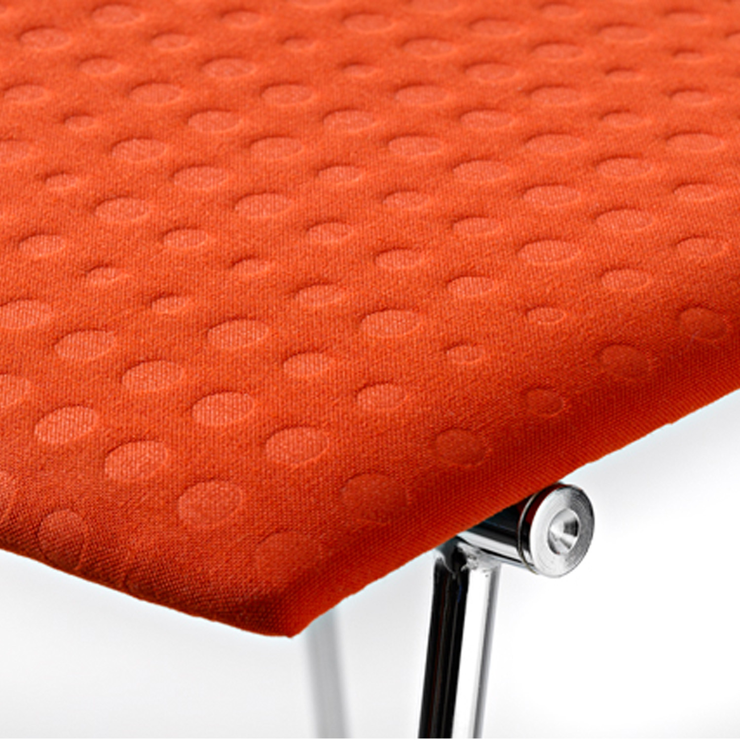 Sharp Upholstered Seat Detail