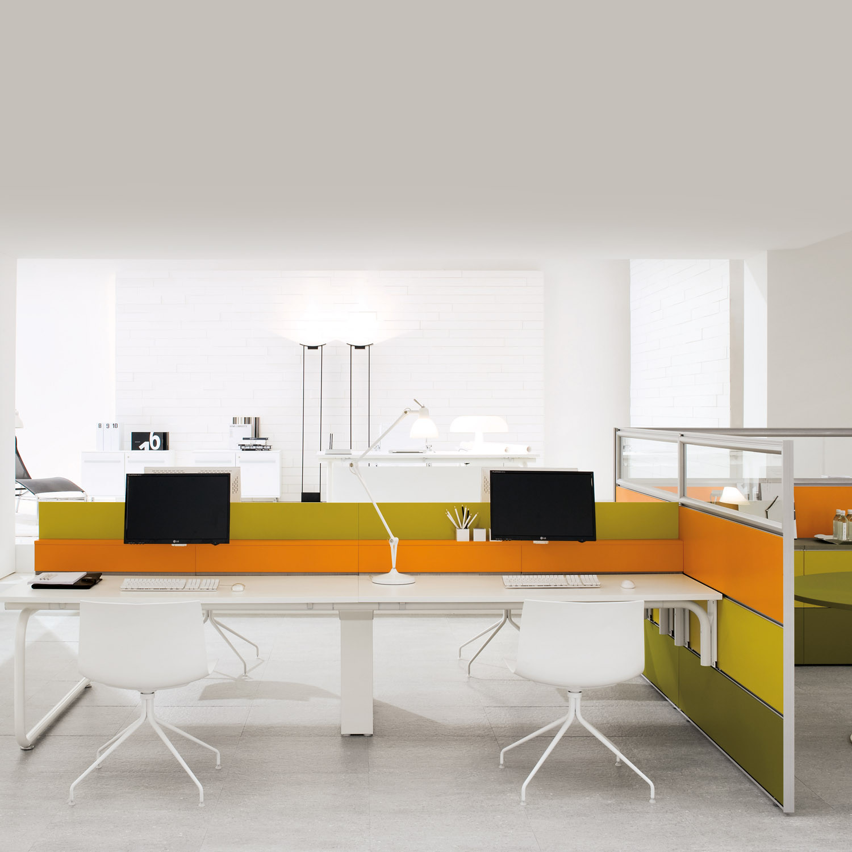 Shi Bench Desking + Te
