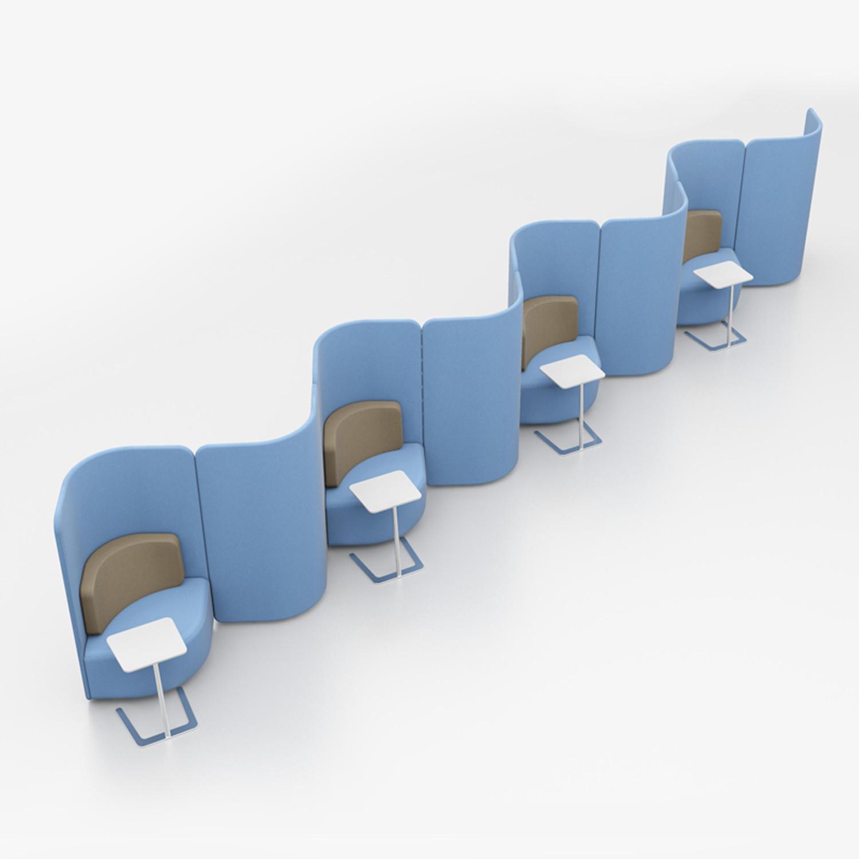High Back Shuffle Chairs