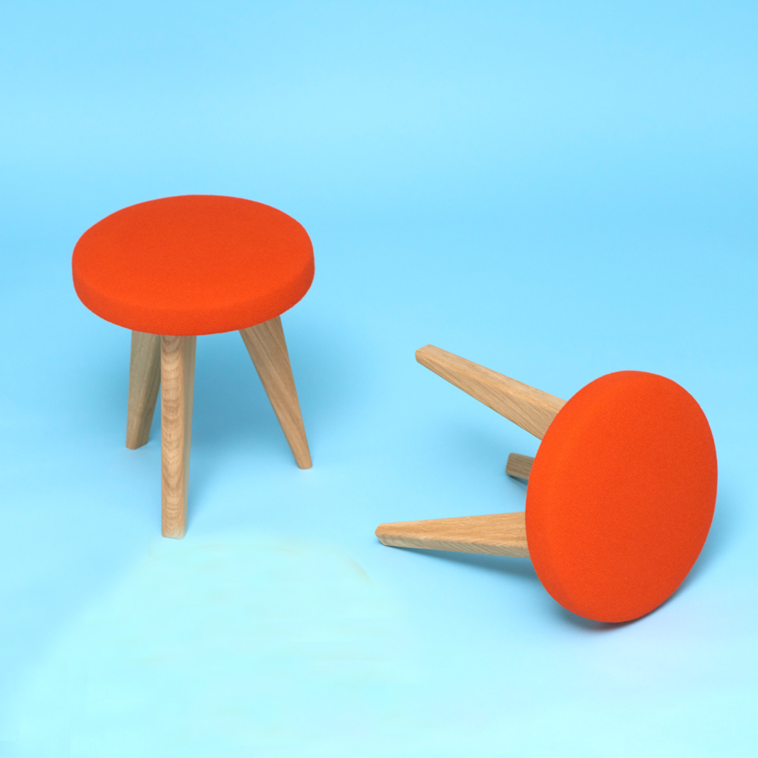 Shug Stools by James Burleigh