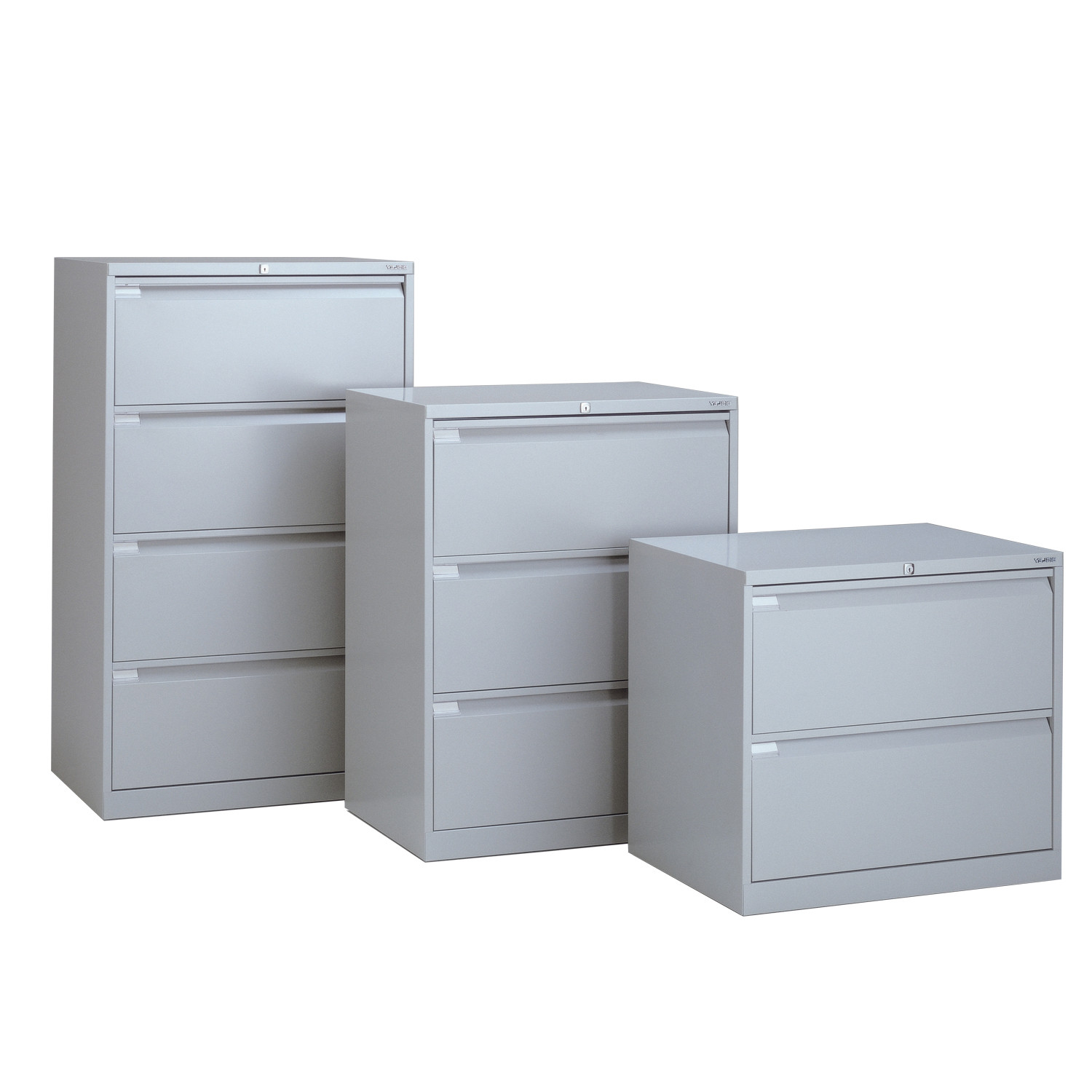 Side Filers in 2, 3 and 4 drawer height