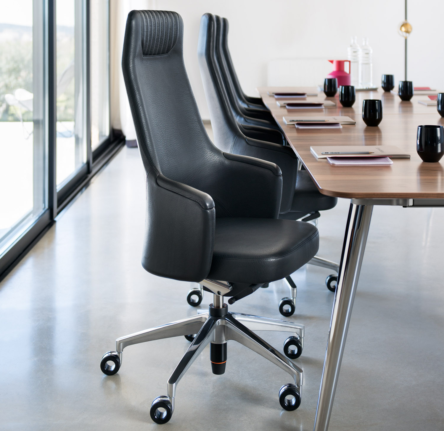 Image result for Leather Office Chair